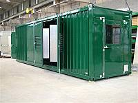 Schalldichter Standardcontainer